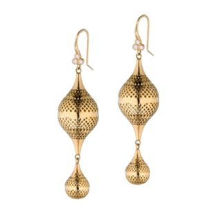 Double Finial Earrings