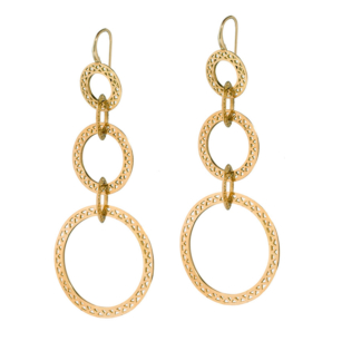 Triple Crownwork® Drop Earrings