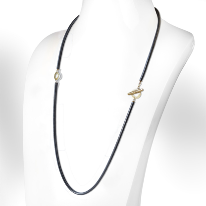 Serpentine Double Wrap Necklace